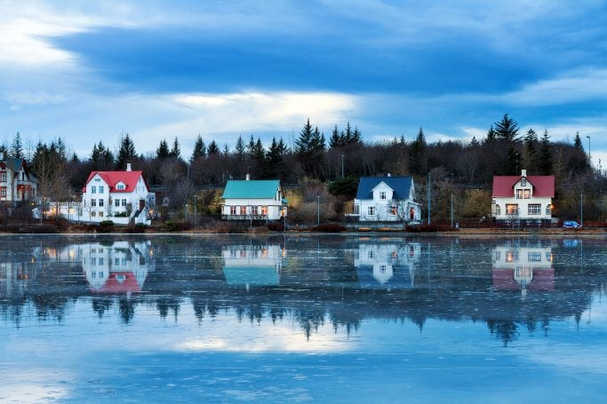Reykjavík small houses